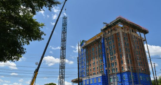 Spartanburg's AC Marriott on track for completion