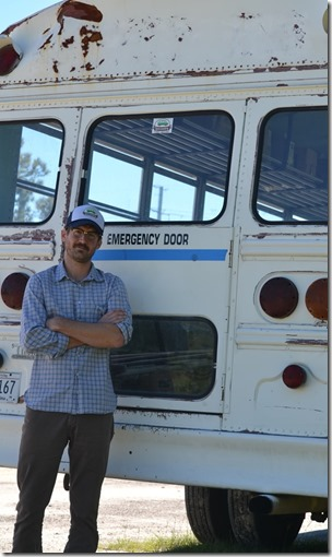 Lindsey Barrow Jr., Lowcountry Street Grocery founder and director, plans to retrofit a school bus into a mobile farmers market. (Photo/Liz Segrist)