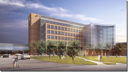 Construction will start early next year on the $65 million expansion of the Gibbs Cancer Center and Research Institute in Greer. (Image provided)