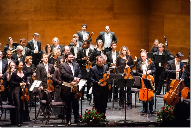 The Charleston Symphony Orchestra performs Beethoven's Violin Concerto during the 2014-2015 season. (Photo/Alyona Semenov for the Charleston Symphony Orchestra)