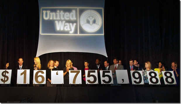 United Way volunteers raised more than $16.7 million for Greenville County programs and initiatives. (Photo provided)