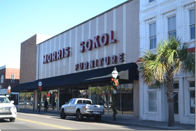 The now-vacant Morris Sokol furniture store building sold last week for $22.5 million. (Photo/Liz Segrist)