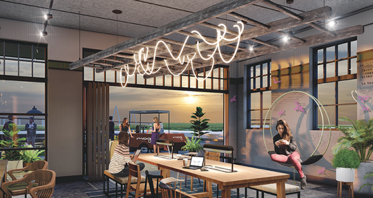 New Charleston Moxy Hotel anticipates industry rebound