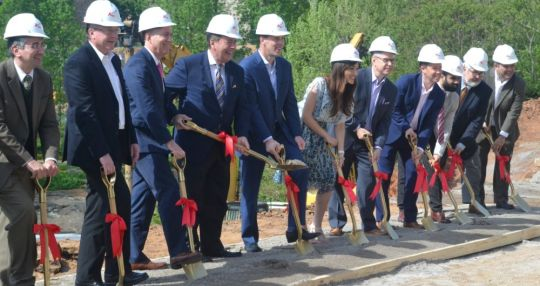 Officials break ground on Grand Bohemian