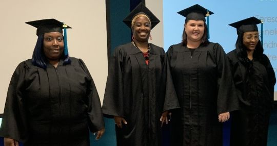 Students earn diplomas through inaugural program