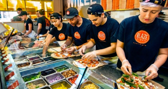 Blaze Pizza opens 2nd Midlands store at Village at Sandhill