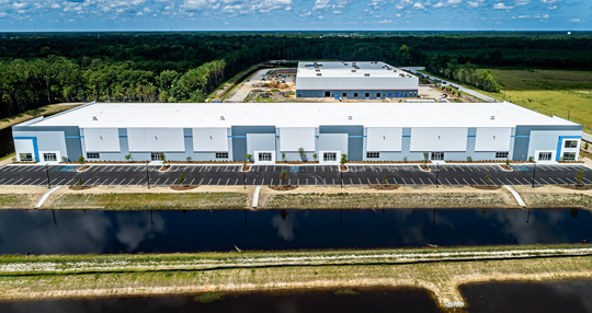 Industrial spec building open for tenants in Summerville