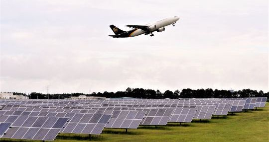 Columbia airport launches state's first airfield solar farm