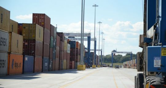 Inland port expanding, gets $25 million for project