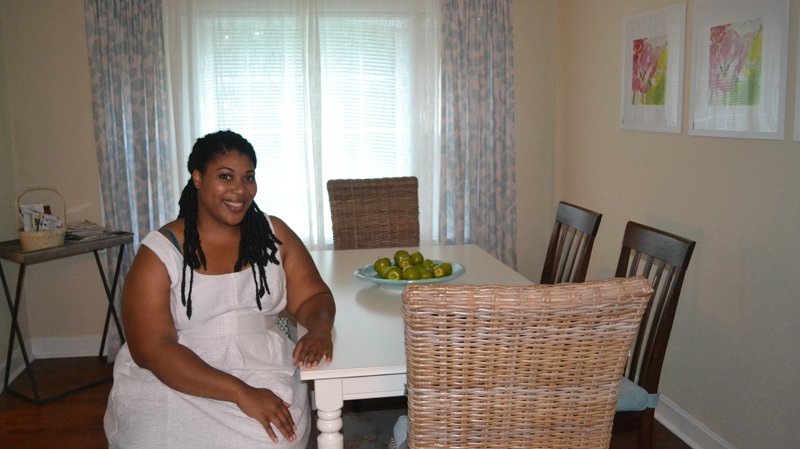 Rashaunda Grant rents two of three units in her childhood home on James Island, as well as a neighboring home, to guests via Airbnb. (Photo/Liz Segrist)
