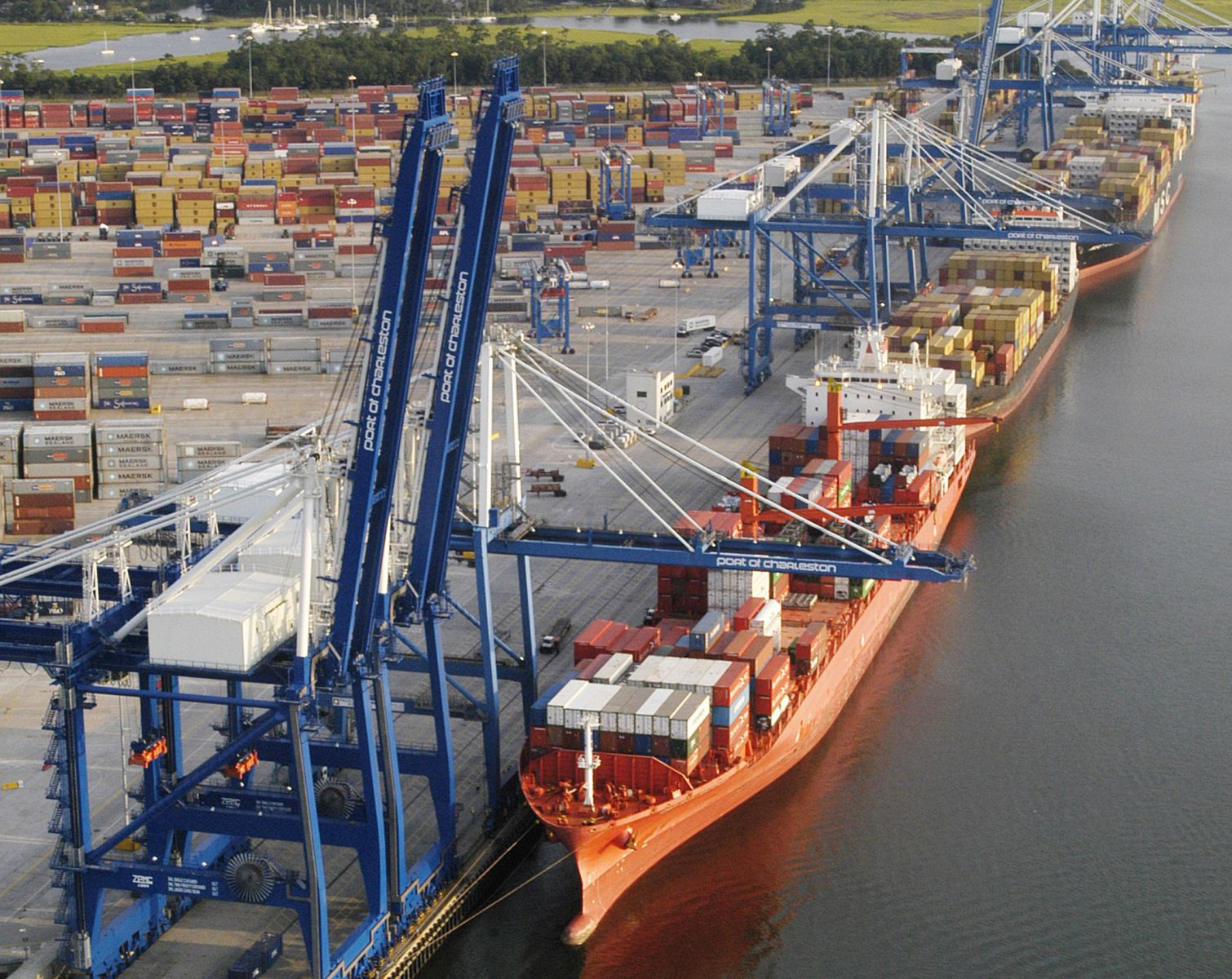 The Port of Charleston set a record for November cargo volume with approximately 99,000 containers coming through the port. (Photo/Provided)