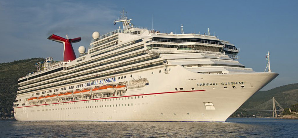 The Carnival Sunshine will sail on four- and five-day cruises to the Bahamas. The ship has capacity for 3,000 travelers, according to the Carnival website. (Photo/Provided)