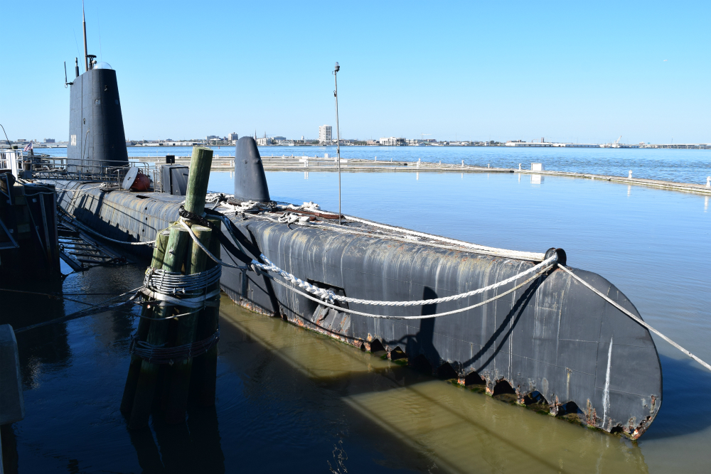 The USS Clamagore submarine was decommissioned in 1975 after 30 years of service. (Photo/Ashley Heffernan)