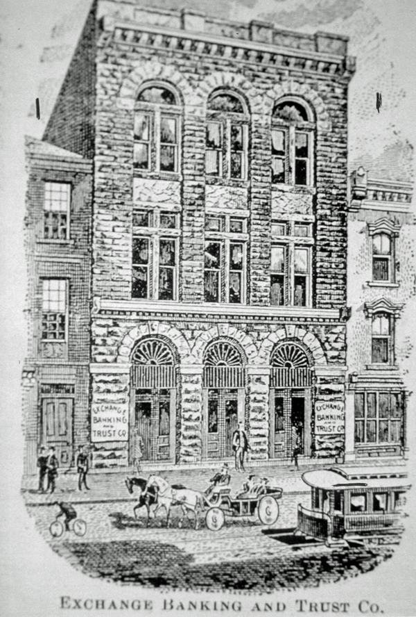 This image of 39 Broad St. appeared in Harper's Weekly shortly after the building was constructed in 1891. (Illustration/Historic Charleston Foundation Archives)