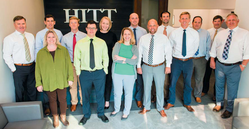 The staff at HITT Contracting in North Charleston.