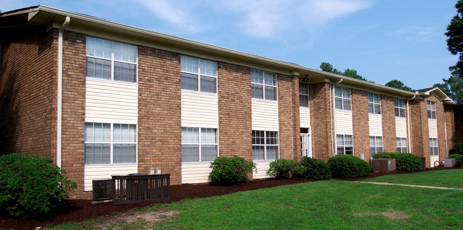 Hampton Oaks, a 160-unit apartment complex on Rivers Avenue in North Charleston, sold recently for $12.775 million. (Photo/Provided)
