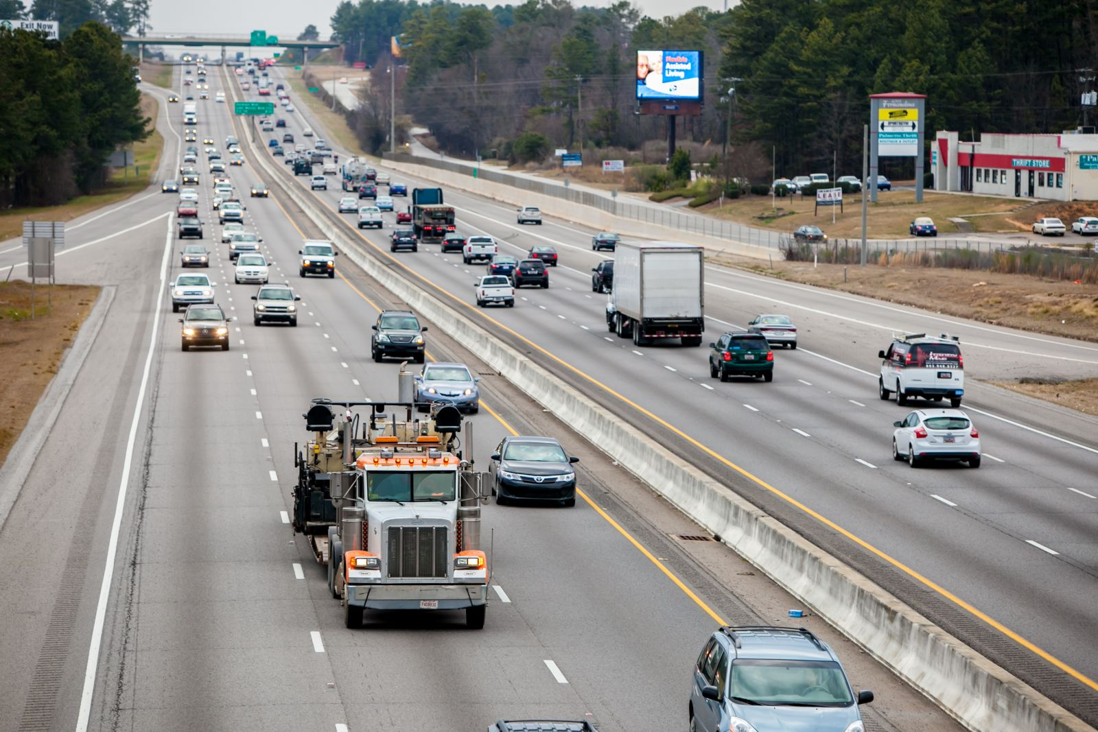 The S.C. Trucking Association says the U.S. needs 50,000 drivers now to meet the current demand for truck drivers. (Photo/File)