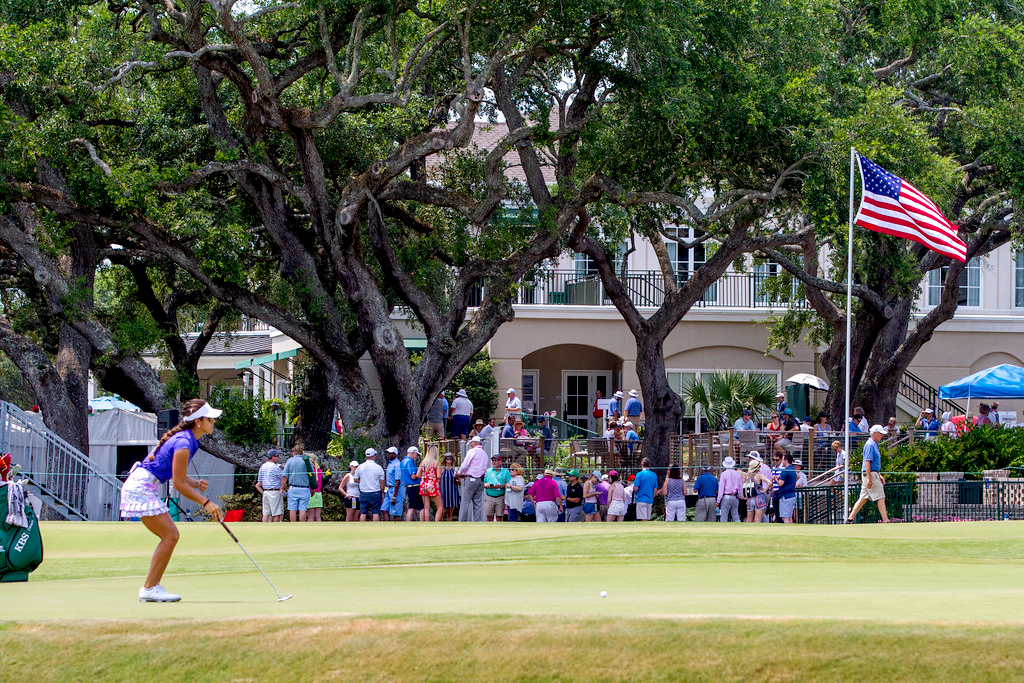The U.S. Women's Open was held at the Country Club of Charleston last week, and concluding on Sunday. Photo/Kim McManus)
