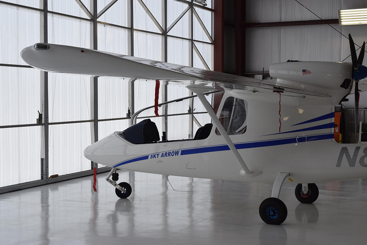 Lowcountry Aviation Co. will be producing Sky Arrow light composite aircraft at Lowcountry Regional Airport in Walterboro. Former Boeing S.C. vice president and founder of Lowcountry Aviation Marco Cavazzoni said he sees Walterboro as a blank canvas. (Photo/Patrick Hoff)