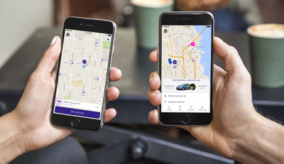 Charleston residents can now hail a ride using Lyft, in addition to Uber and taxi companies in the area. (Photo/Lyft)