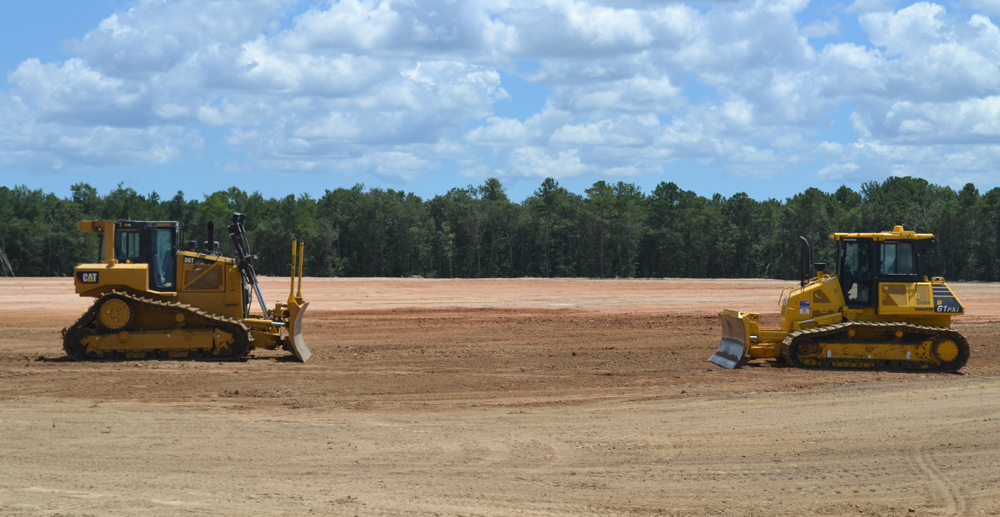 Mercedes-Benz Vans bought additional land as part of its campus expansion in North Charleston. Work began this summer on Mercedes' original 200-acre site (above). (Photo/Liz Segrist)
