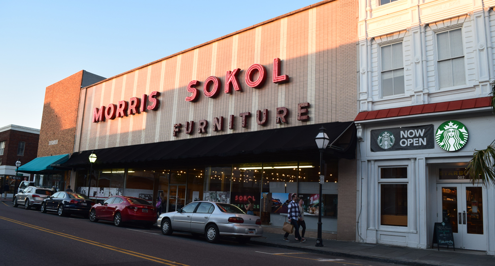 Store owner Joe Sokol closed the 94-year-old Morris Sokol furniture store at 510 King St. in 2015. (Photo/Ashley Heffernan)