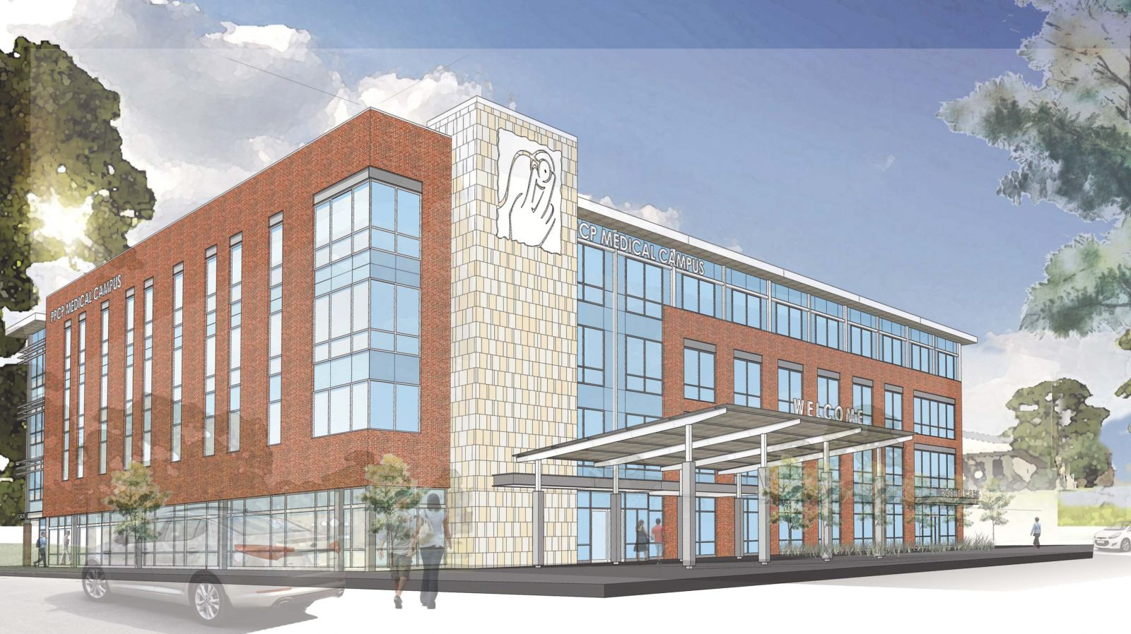 Ground was broken Wednesday on the first building of a planned six-building medical complex for Palmetto Primary Care Physicians in the Nexton community in Summerville. (Rendering/Provided)