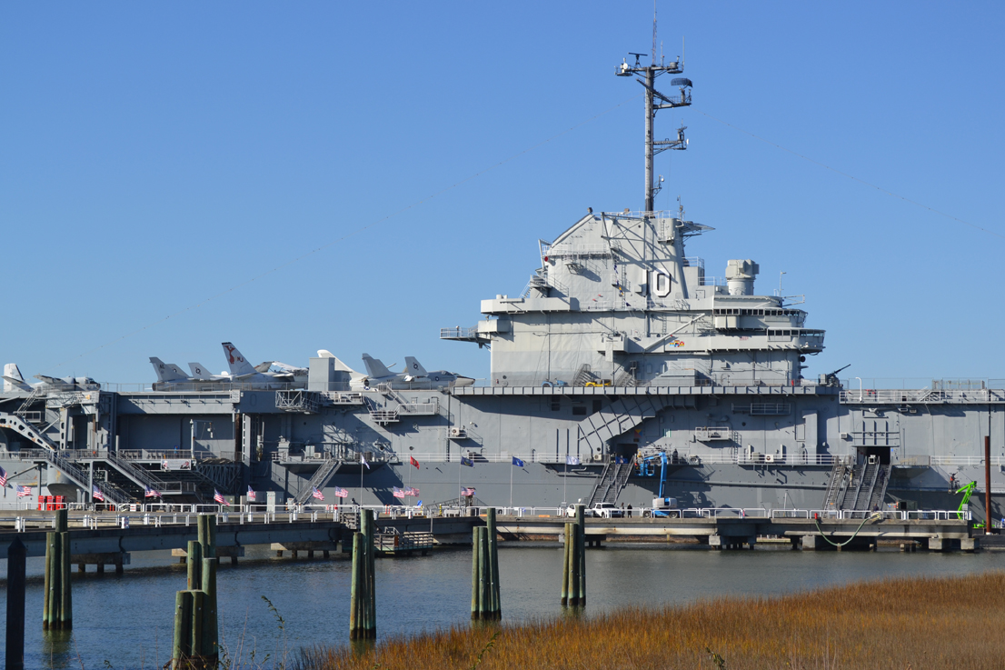 Patriots Point expects to surpass 310,000 paid visitors by the end of the fiscal year, which ends this month. (Photo/File)