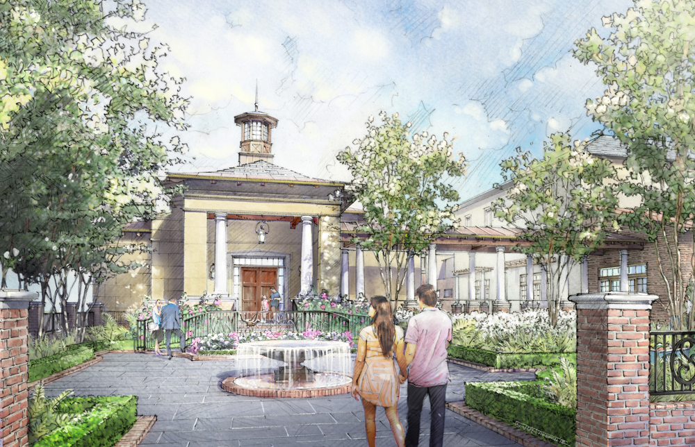 Kiawah Island Golf Resort is investing $200 million into amenity improvements, including a new chapel next to The Sanctuary. (Rendering/Stubbs Muldrow Herin architects)