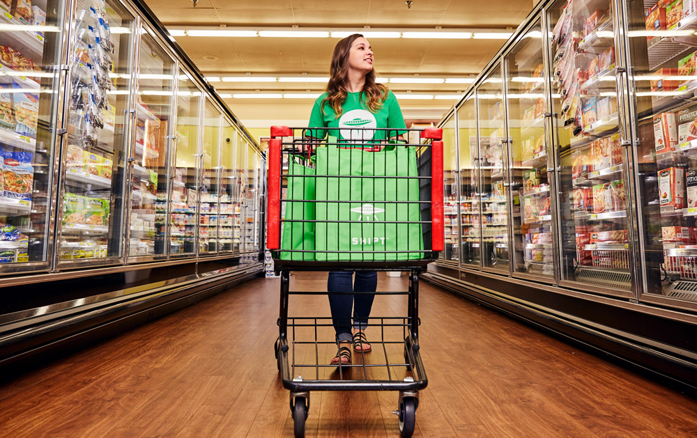 Shipt employees do the grocery shopping for customers and deliver the goods to the customers. (Photo/Provided)