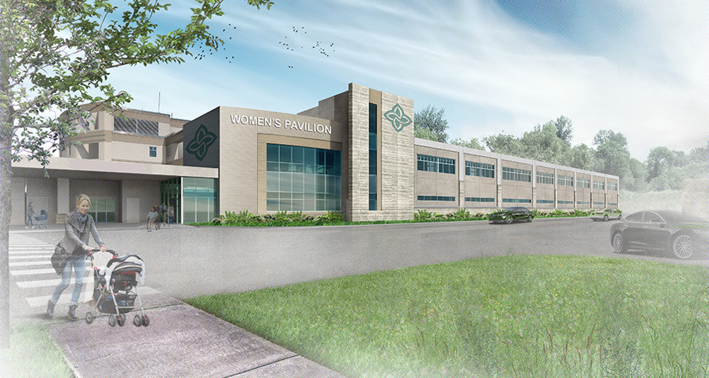 Trident Health will consolidate its obstetric and neonatal services into the new expansion at Summerville Medical Center as of July 9. (Rendering/File)