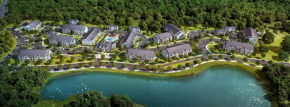 The Village at Point Hope, the first development in Cainhoy Plantation, is expected to be completed by fall 2018. (Rendering/Provided)