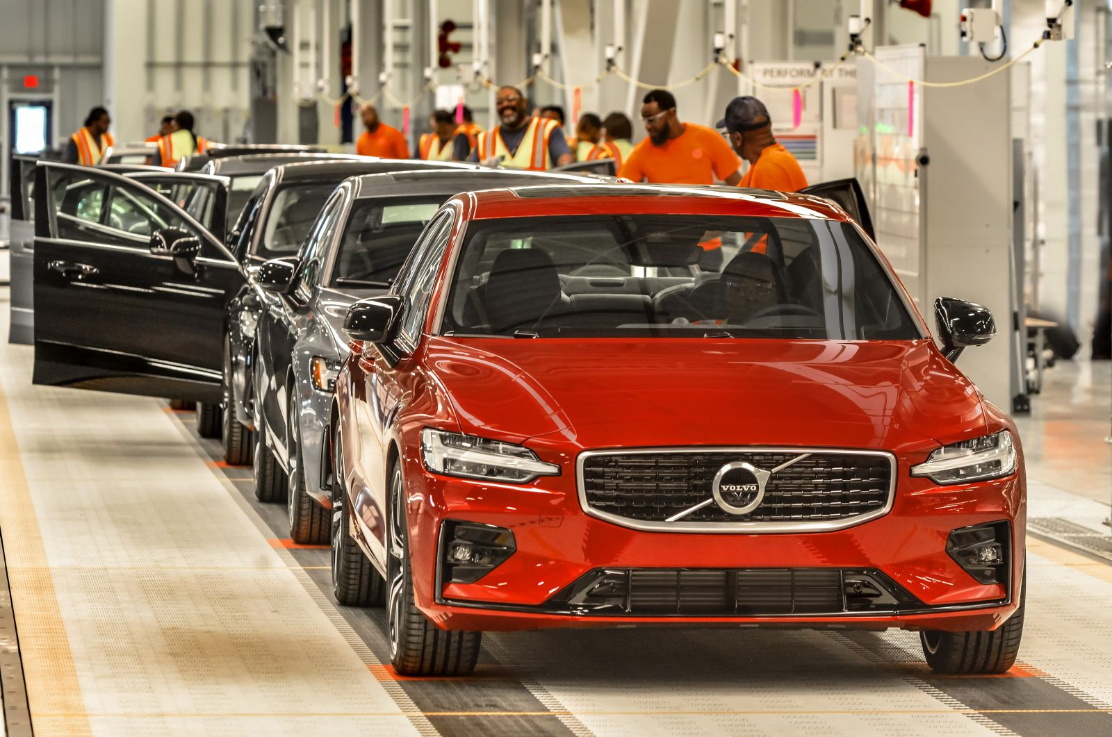Volvo Cars produces S60 sedans at its plant near Ridgeville. (Photo/Volvo Cars)