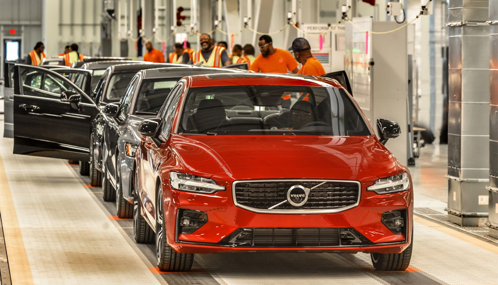Volvo Cars currently produces about 24 cars an hour at its Berkeley County plant. (Photo/Volvo Cars)