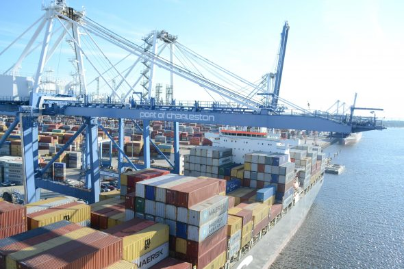 The S.C. State Ports Authority approved its largest-ever capital plan as part of the new fiscal year 2017 financial plan, including money for terminal improvements. (Photo/Liz Segrist)
