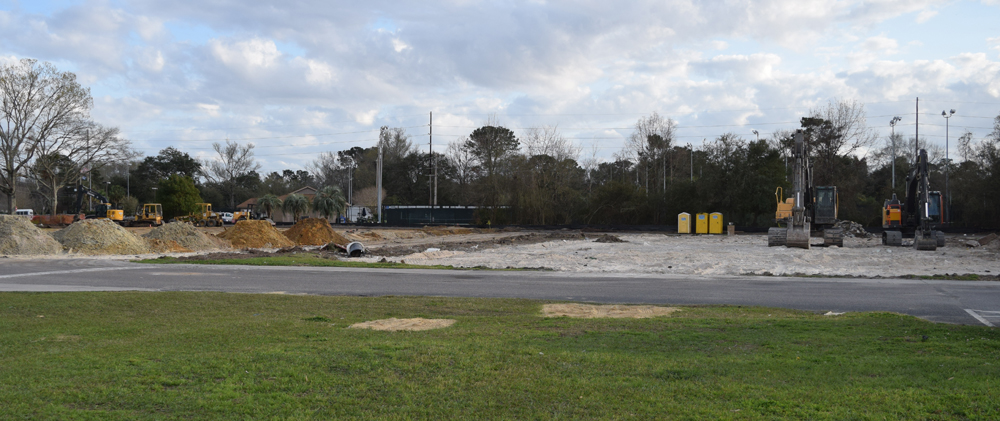 Whole Foods Market is building its second Lowcountry store adjacent to the Doscher's supermarket on Savannah Highway in West Ashley. (Photo/Ashley Heffernan)