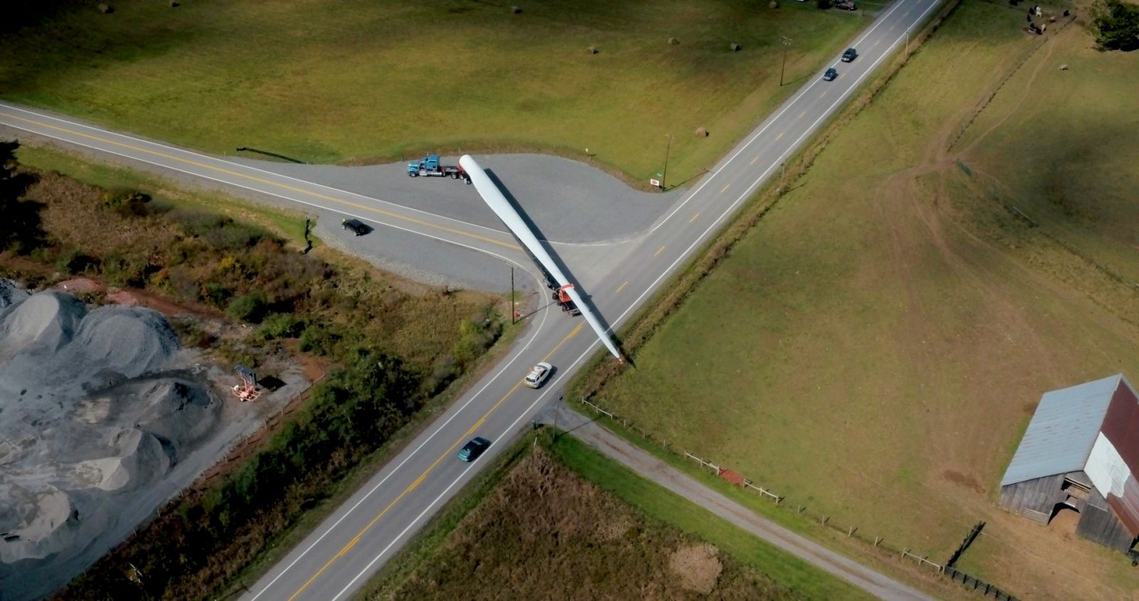 Greenville-based Logisticus manages the transport of turbine blades, some reaching almost 165 long, after the blades are retired from service. (Photo/Provided)