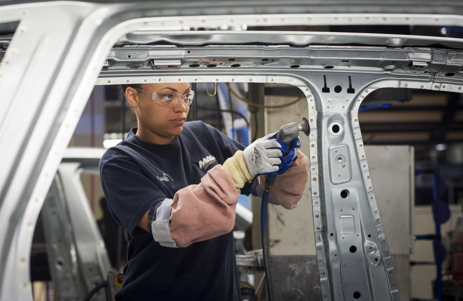 Bringing more women into companies such as BMW in Greer requires focusing students on math, engineering and science, human resources professionals say. (Photo/BMW Manufacturing Co.)