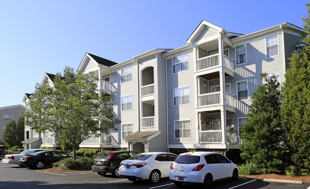 Radius at West Ashley, formerly known as Woodbridge Apartments, is undergoing $3 million in renovations to modernize the property. (Photo/Provided)
