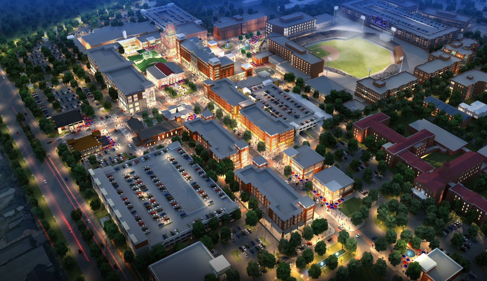 Several projects, including a planned new brewery and the relocation of the University of South Carolina's medical school, have picked up momentum at the 181-acre, mixed-use BullStreet District development. (Rendering/File)