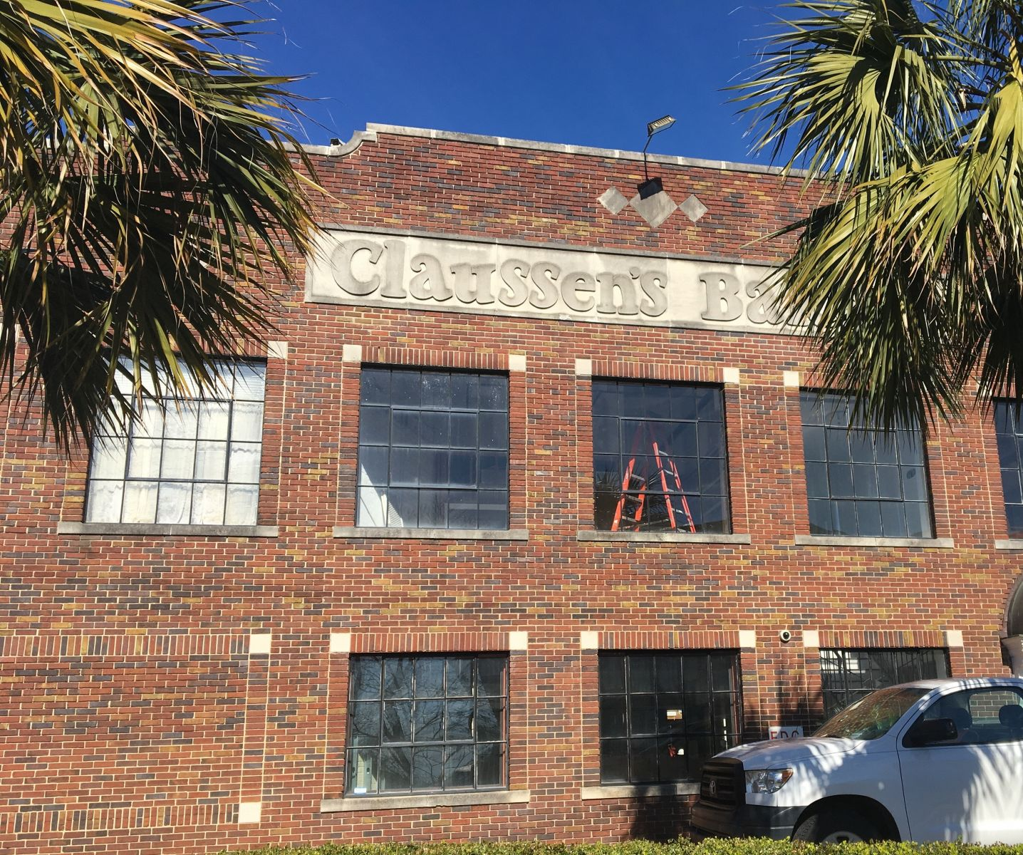 Claussen's in Five Points is being renovated into 29 boutique apartments slated for occupancy in March. (Photo/Melinda Waldrop)