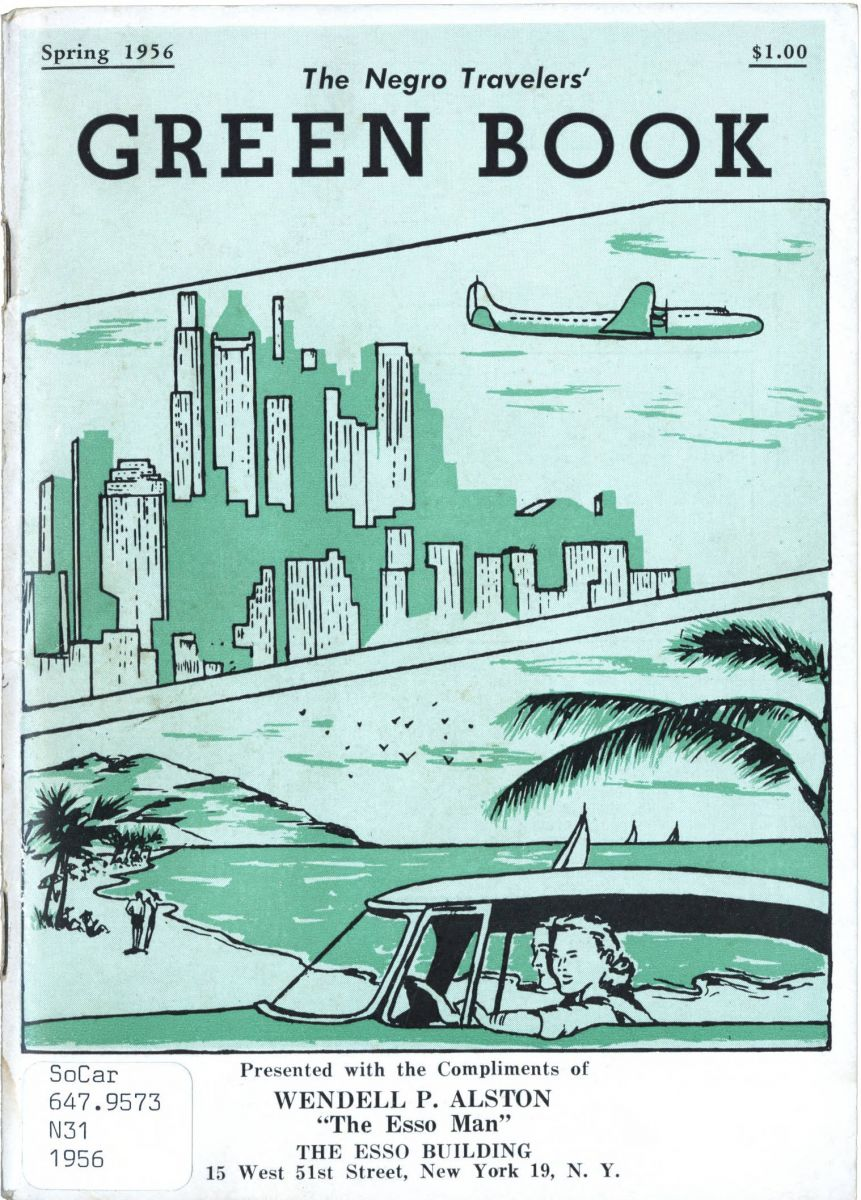 "The University of South Carolina is displaying its copy of the spring 1956 Green Book in an exhibit titled ""Green Book: African-American Travel Experiences."" (Photo/University of South Carolina)"