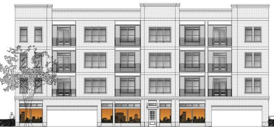 12-unit apartment building at 933 Main up for initial approval > SC ...