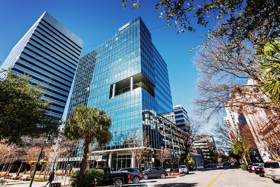 The Main & Gervais office tower has been acquired by KBS Realty Advisors for $65 million from Holder Properties, of Atlanta. (Photo/Provided)