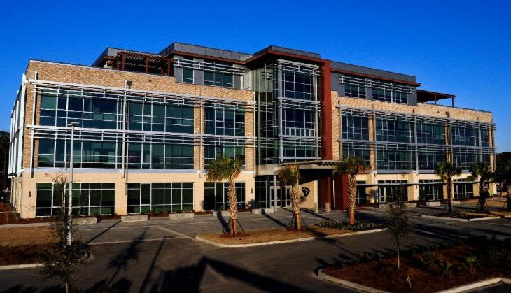 The S.C. Ports Authority's 80,000-square-foot headquarters building is located in Mount Pleasant. (Photo/Provided)